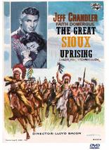 THE GREAT SIOUX UPRISING (1953) Jeff Chandler, Faith Domergue,  ALL REG ... - $19.00