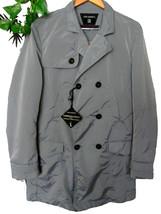 John Barritt Men's Gray Shiny Rain Coat 3 Buttons Jacket Size US 42 EU 5... - $75.23