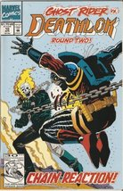 Deathlok #10 (Ghost Rider Vs. Round Two) April 1992 [Comic] [Jan 01, 1992] Grego - $0.47