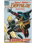 Deathlok #10 (Ghost Rider Vs. Round Two) April 1992 [Comic] [Jan 01, 199... - $0.50