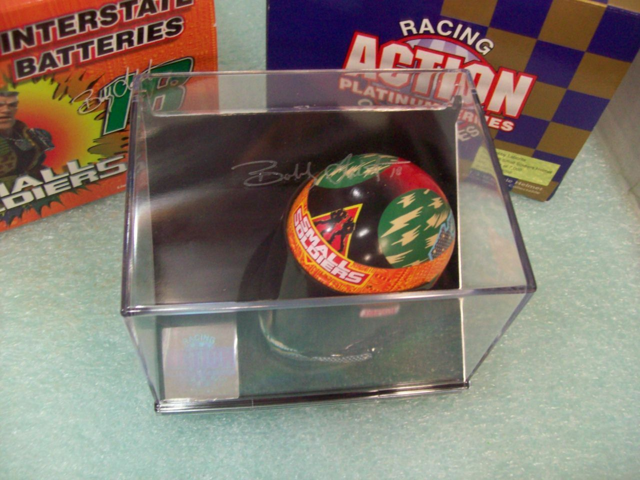 1998 - Action - Bobby Labonte / Small Soldiers 1:4 Scale NASCAR Helmet