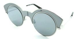 Alain Mikli Sunglasses A04009 001/6G 48-26-140 La Nuit Silver Grey Mirro... - $85.36