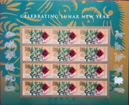 Chinese New Year 2018 Year of the Dog First Class (USPS) Mint FOREVER ST... - $7.95