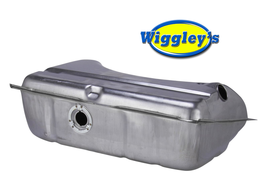 STAINLESS STEEL GAS FUEL TANK ICR11B-SS FITS 67 DODGE DART PLYMOUTH BARRACUDA image 1