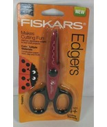 NEW FISKARS EDGERS For Kids Decorative Cuts Construction Paper Foam Clay... - $13.99