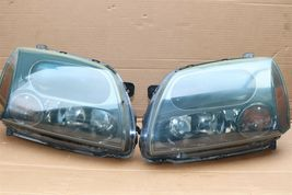 04-09 Mitsubish Galant Ralliart Projector Headlight Lamps Set L&R image 4