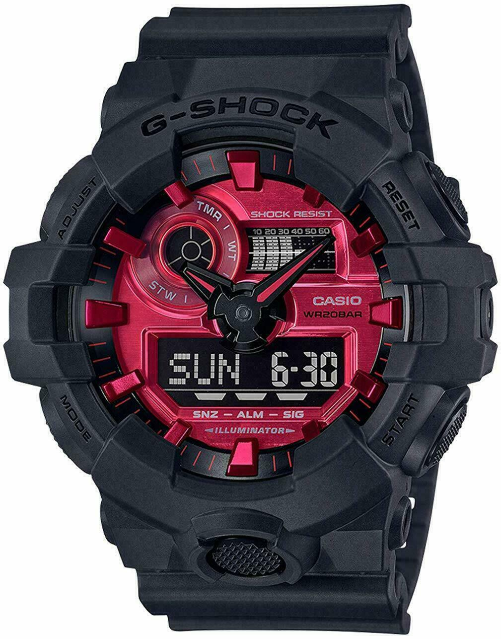 Primary image for Casio G-SHOCK GA700AR-1A Red Wristwatch for Men