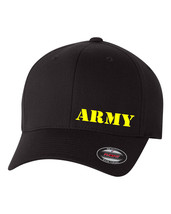 ARMY MILITARY SOLDIER FLEXFIT HAT CURVED or FLAT BILL *FREE SHIPPING in ... - $19.99