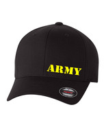 ARMY MILITARY SOLDIER FLEXFIT HAT CURVED or FLAT BILL *FREE SHIPPING in BOX* - $19.99
