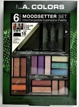 LA.Colors Moodsetter Interchangeable Eye Shadow Palette Set Eye Lip Make... - $7.99