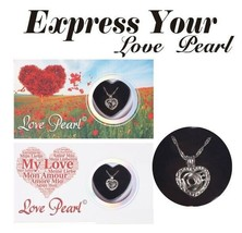 """Love Wish Pearl Necklace Kit Culture Pearl 16"""" Necklace Express Your Lov... - $9.66"""