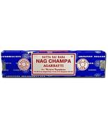 Nag Champa Incense, 40 Gms by Sai Baba (Pack of 2) - $8.06