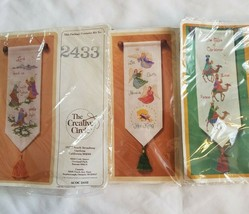 Wall Hangings 2433 Lead Us Lord 2423 King of Angels 2169 Three Wisemen Kits - $30.00