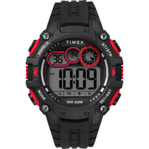 Timex Men's Big Digit DGTL 48mm Watch - Red/Black - $35.90