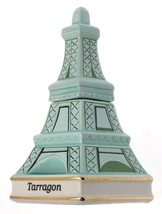 Danbury Mint Spices of the World France Eiffel Tower Tarragon spice jar  - $31.92