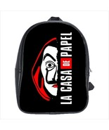 School bag casa de papel bookbag 3 sizes - $38.00+
