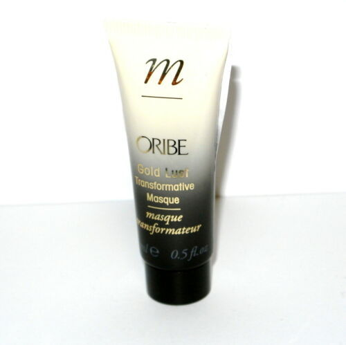 Primary image for Oribe Gold Lust Transformative Hair Masque Mask Sample Size 0.5 oz mini travel