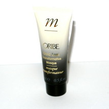 Oribe Gold Lust Transformative Hair Masque Mask Sample Size 0.5 oz mini ... - $9.85