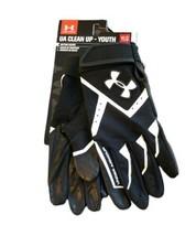 Under Armour UA Youth Large UA CleanUp HeatGear Batting Baseball Gloves ... - $14.69