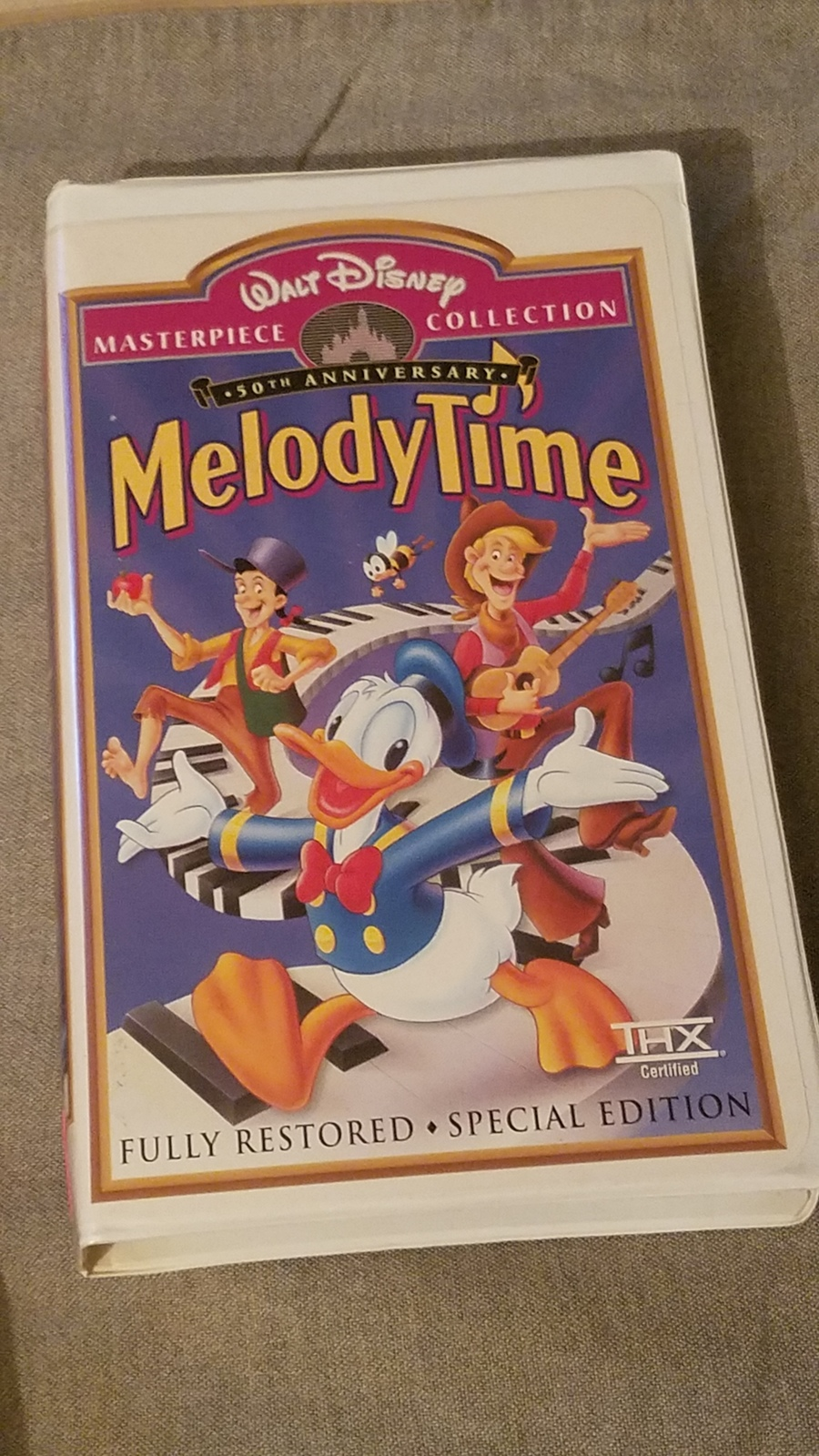 Walt Disney Masterpiece collection 50th Anniversary Melody time VHS