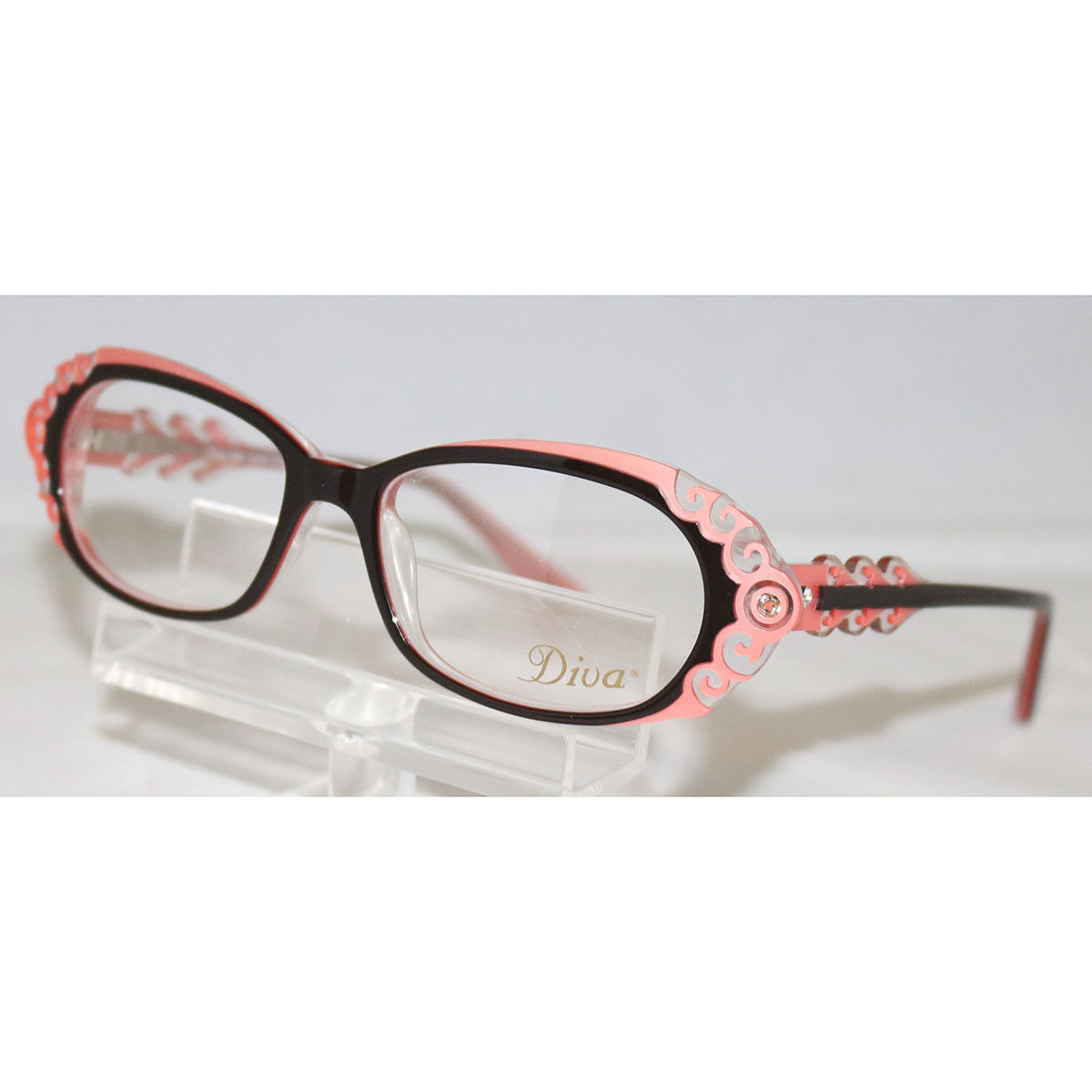 ff8e10ce426 Diva Women s Eyeglasses 5398 746 Black   and 50 similar items
