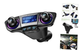 Bluetooth FM Transmitter for Car, ONEVER Wireless Bluetooth Radio Adapte... - $25.74