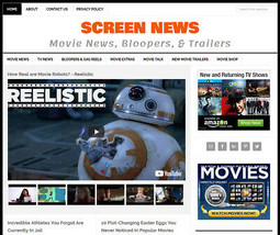 [NEW DESIGN] * MOVIE & TV NEWS * website business for sale w/ AUTOMATIC ... - $90.70