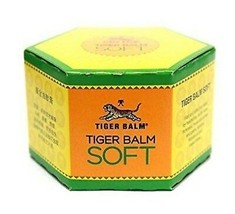 4 x LARGE Tiger Balm Soft 50g headache stuffy nose insect bite Singapore 虎標萬金油軟膏 - $59.99