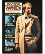 Doctor Who Monthly Comic Magazine #121 Peter Davison Cover 1987 VERY FINE - $4.99
