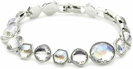 Authentic Swan Signed Swarovski Mineral Moonlight Bracelet 1054837 Rare - $89.00