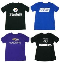 Boy's 8-18 NFL Team Tee Shirt Short Sleeve Youth Football T-shirt NEW
