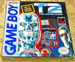 T2 Terminator Gioco Arcade Nes Nintendo Originale Game Boy Sigillato Nuo... - $86.84