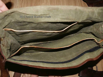 2017 Men's Vintage Looking Leather Messenger Briefcase Shoulder Bag Handmade