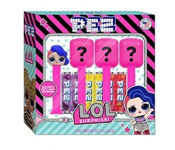 LOL Surprise PEZ Gift Set (4 Dispensers including Gift Set Exclusive + 6 Candy R - $15.18