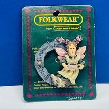 Boyds bears Folkwear pin brooch pinback Speedy roller skates figurine fo... - $13.50