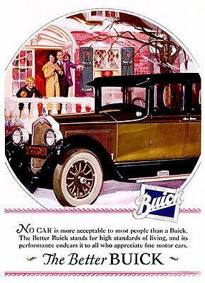 Primary image for 1925 Buick - Promotional Advertising Poster