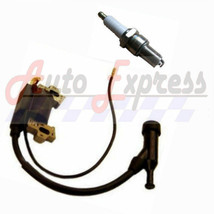 New Honda GX200 6.5 HP Ignition Coil and Spark Plug For 6.5 hp Engines - $12.85
