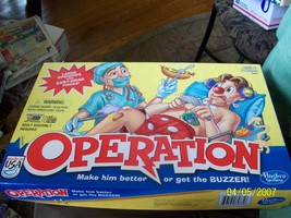 16#   Operation Board Game with Large Openings & Easy Grab Pieces Comple... - $12.80