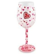 Lolita One in a Million Wine Glass Rare Custom ... - $85.07