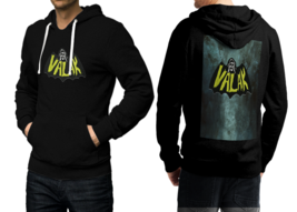 Valak Black Cotton Hoodie For Men - $39.99