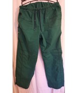 WonderWink scrub pants   drawstring   Hunter green   XLT     Style  #5108T - $7.91