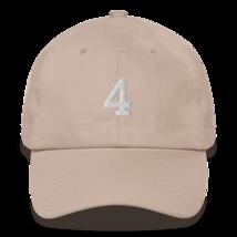 BRETT FAVRE 4 HAT / FAVRE HAT / 4 HAT / packers hat / DAD HAT image 6