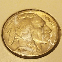 1935 unc. Buffalo nickel - $99.99