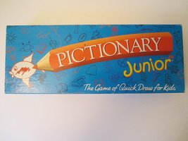 Pictionary Junior; the Game of Quick Draw (1999 Vintage) by Hasbro - $14.85