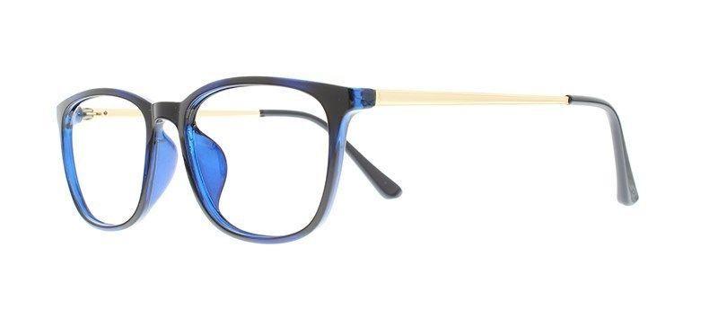87d2072d49 EBE Bifocal Reading Glasses Full Rim Blue Spring Hinge Mens Womens Retro  Style -  35.67