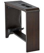 Chair Side End Table Recliner Sofa Living Room Stand Built In Outlet Cup... - $81.58