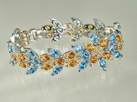 "Pasquale Bruni 18K White Gold ""Ghirlanda"" Blue Sapphire Bracelet. High J... - $47,421.29 CAD"