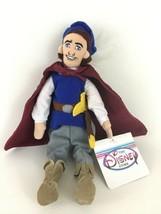 "Disney Store Snow White The Prince Mini Bean Bag 10"" Plush Stuffed Toy with Tags - $16.78"