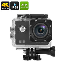 Elephone ELE Explorer 4K Action Camera - 16MP Sensor, 170 Degree View, 2... - $85.11