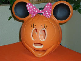Halloween Minnie Mouse JOL Pumpkin Blow Mold Light - $19.99